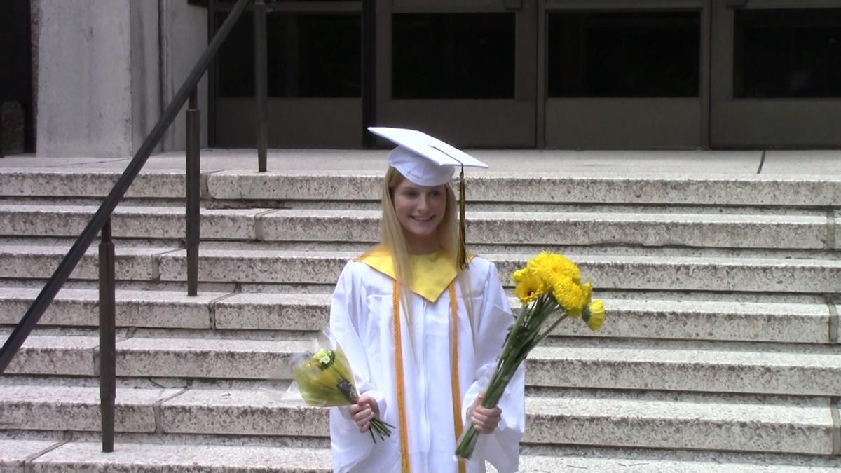 Abby Leach graduation 2