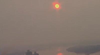 hazy skies 072021