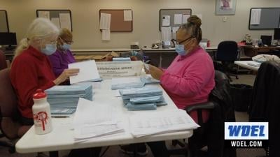 election ballots being counted