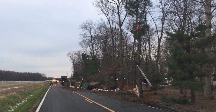 Sandtown Road Chicken Truck Wreck 2 (Dec12'2017)
