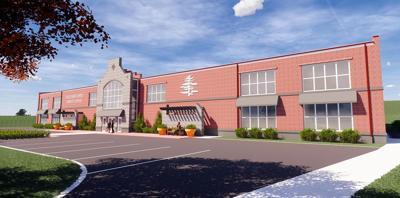 Rendering of updated Sanford Sports Center