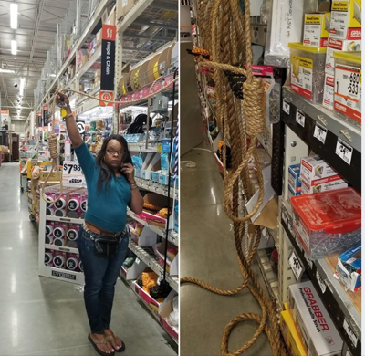 Noose in Home Depot
