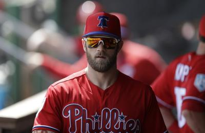 1ed8b4607 Bryce Harper aims to deliver a World Series title in Philly