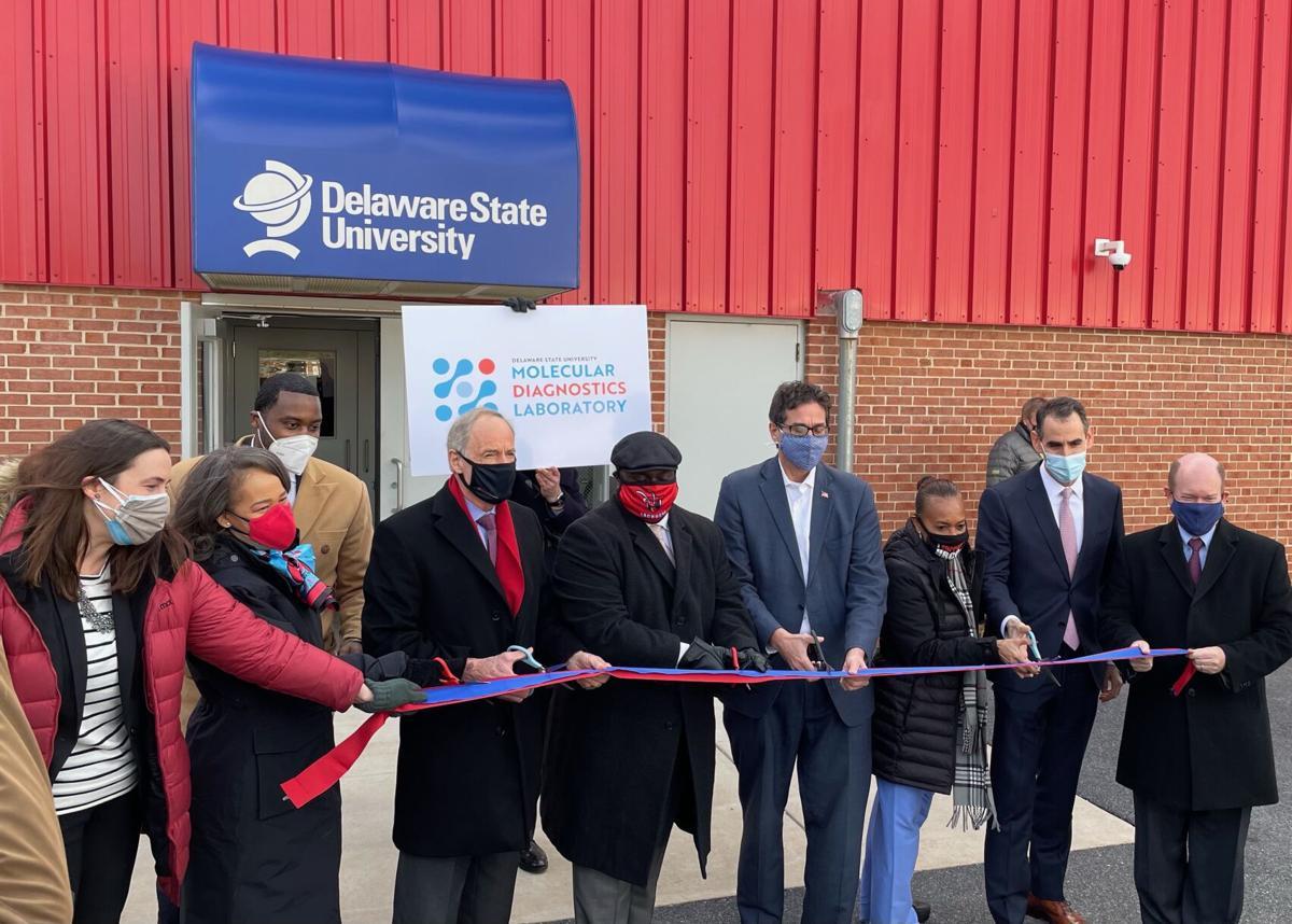 DSU ribbon cutting Wilmington campus
