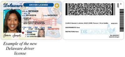 Delaware com Wdel Latest From Design The Id Wdel Dmv Announces News In New Driver License