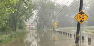 Flood warning up for the Brandywine