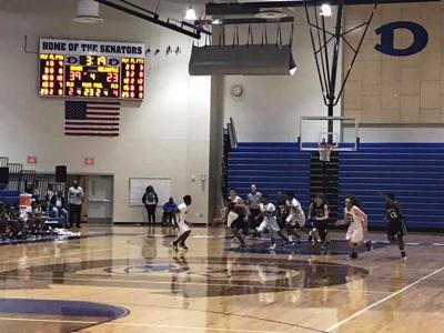 Dover hosts Delcastle in a boys basketball game