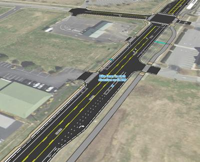 overview of Rt. 299 reconstruction