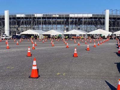 DVR Speedway vaccination site