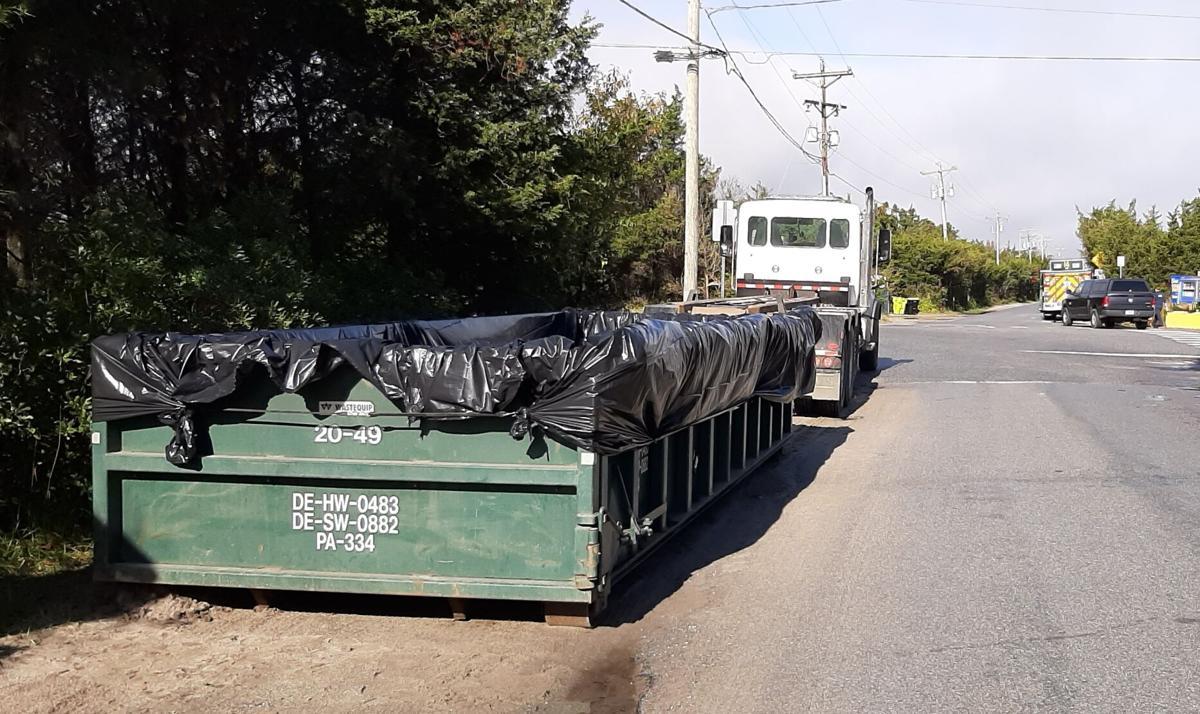 oil spill dumpsters
