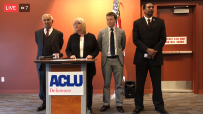 Aclu Sues Education Officials On Behalf >> Aclu Announces Lawsuit Over Unfair Education Funding In Delaware