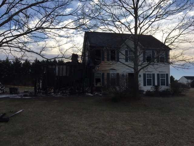 Fairview Farms fire 1