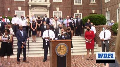 Delaware Black Legislative Caucus presser 061020