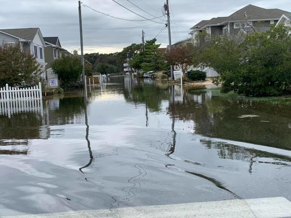 South Bethany flooding 101119