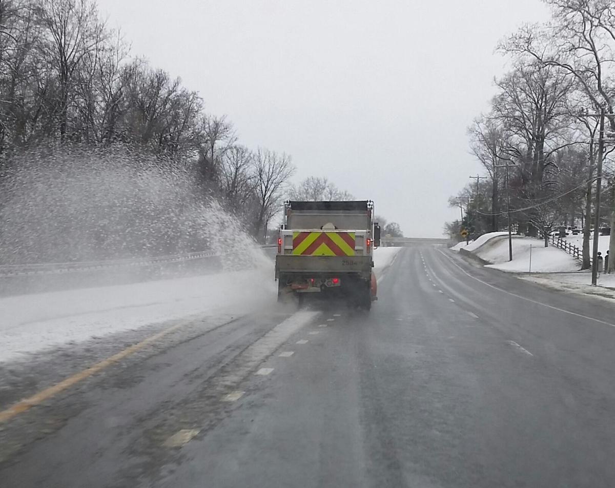 DelDOT Snow Plow