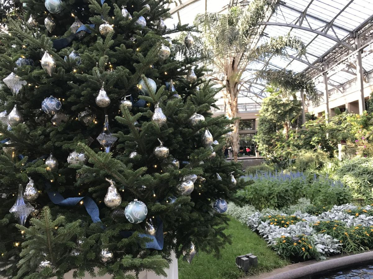 video ooh la la longwood gardens christmas show finds inspiration from the city of lights