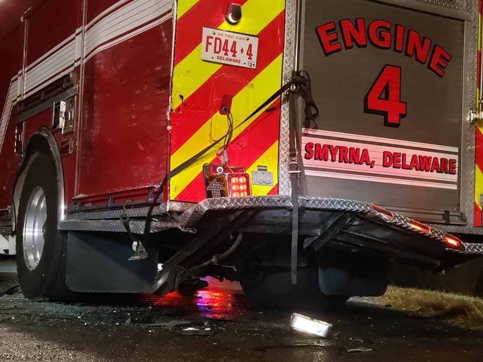 Smyrna fire truck crash 2