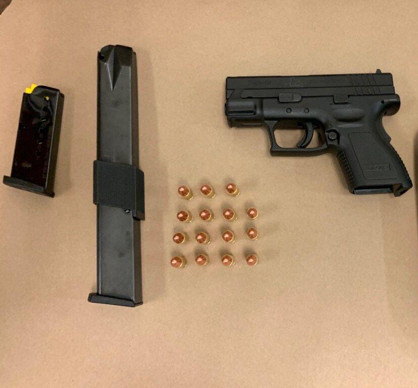 gun drug bust NCCPD 102320