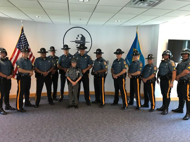 VIDEO   Teen Trooper visits Delaware   The Latest from WDEL
