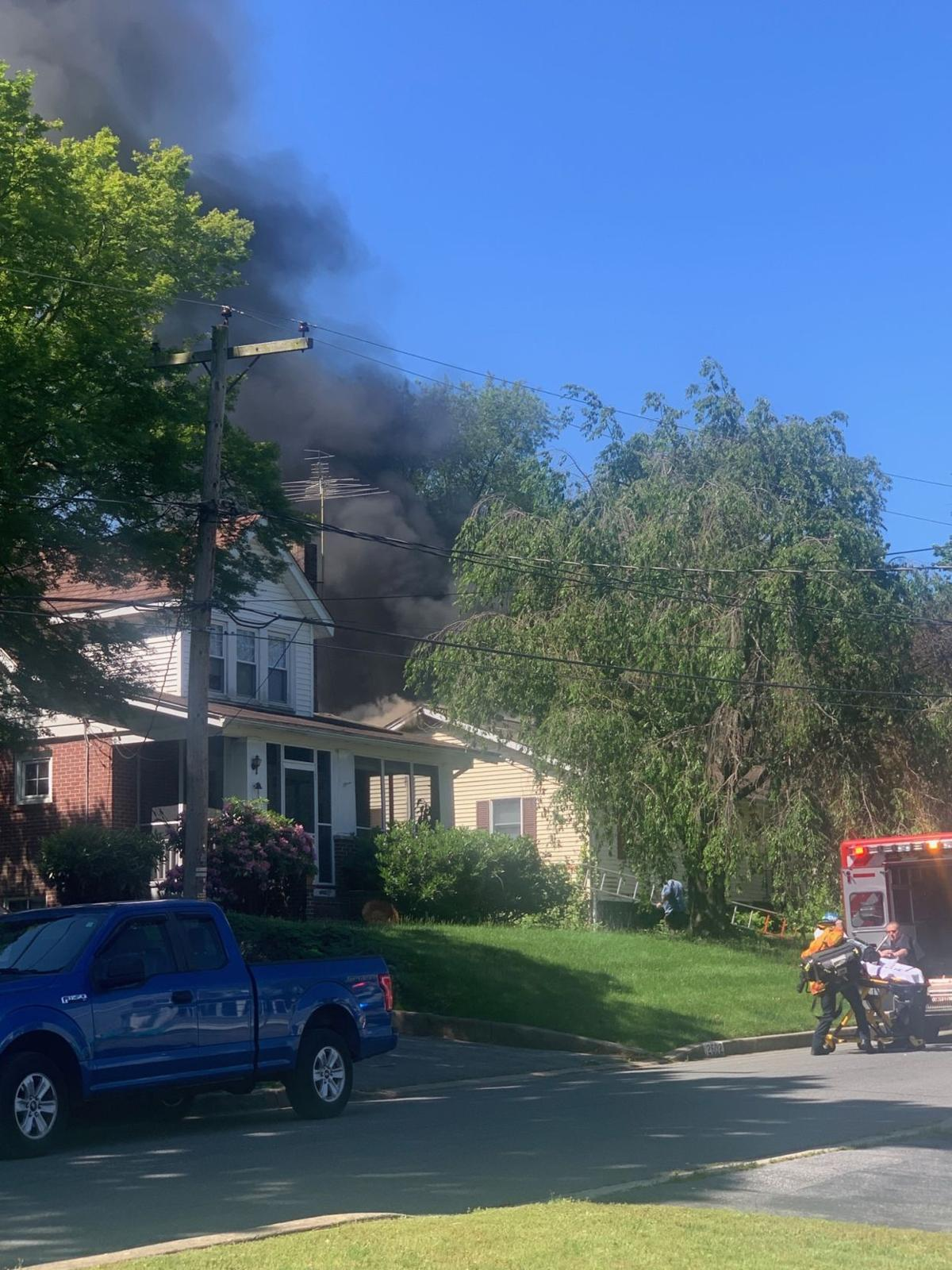 Roselle house fire 1