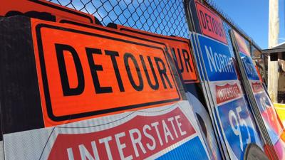 I-95 detour