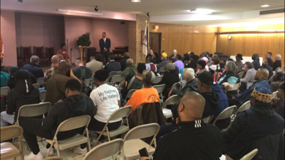 Ezion Mount Carmel Church hosts a meeting on making Wilmington's Street's Safer