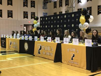 Sixteen Padua athletes sign on National Signing Day