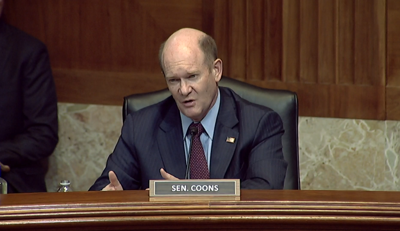 U.S. Sen. Chris Coons