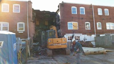Rowhome where 2 Wilmington firefighters died battling suspected arson torn down