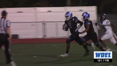 Howard's Karvin Reeves rushes for a touchdown against McKean