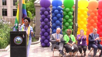 Wilmington recognizes LGBTQ Pride Month, raises rainbow flag over Rodney Square