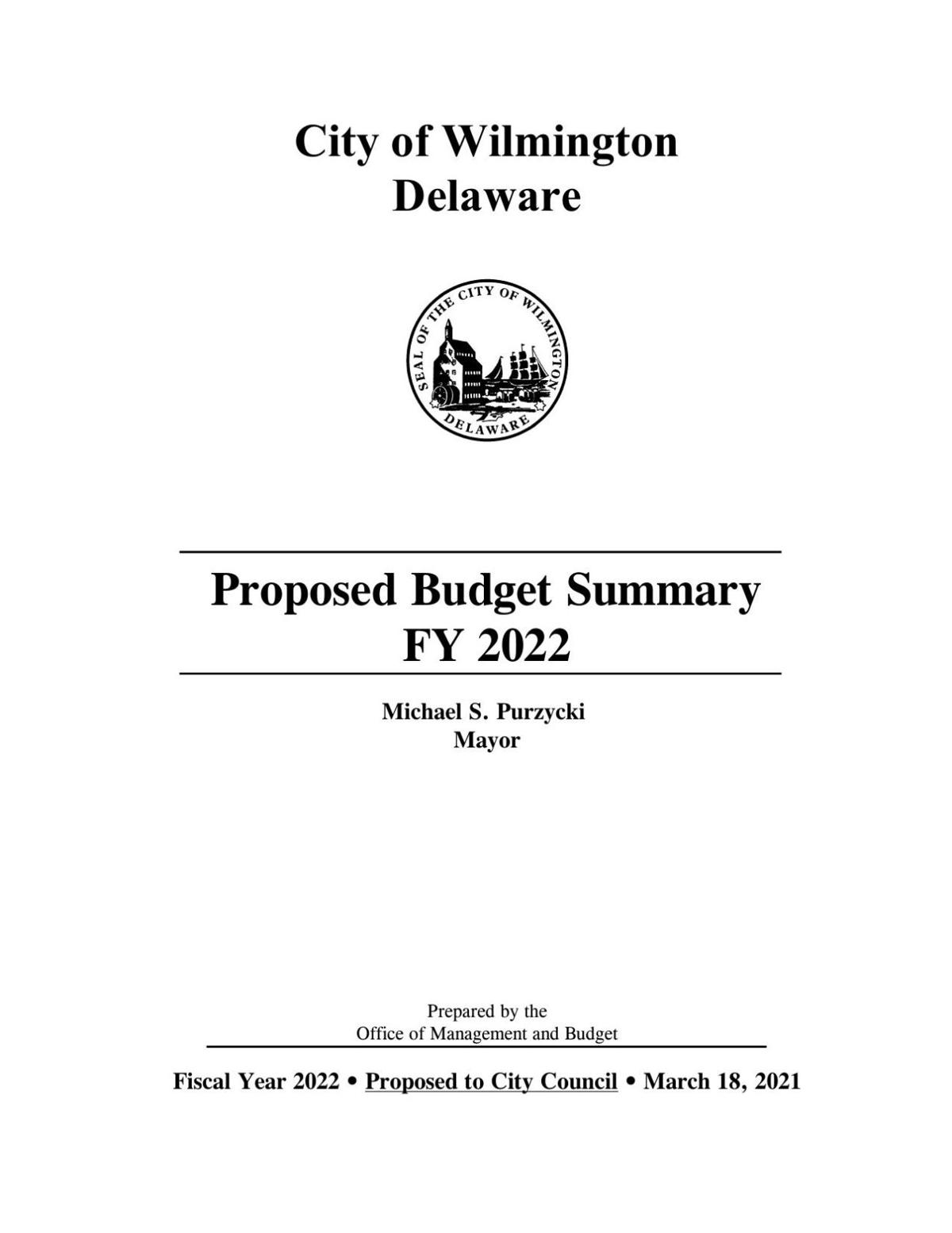 2022 Proposed STAND ALONE BUDGET SUMMARY.pdf