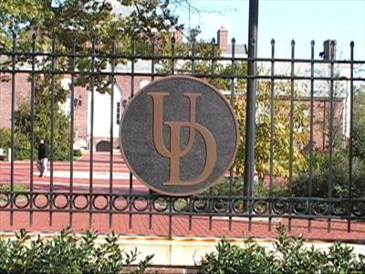 University of Delaware gate
