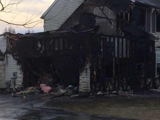 Fairview Farms fire 2