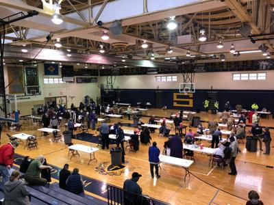Salesianum hosts a COVID-19 vaccination clinic
