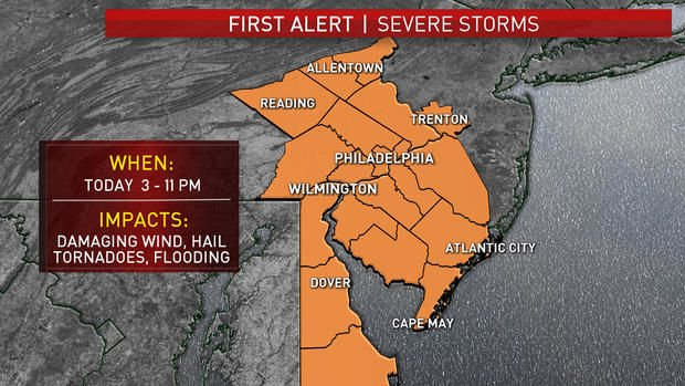 Round 3 | More severe weather heading our way | | wdel com