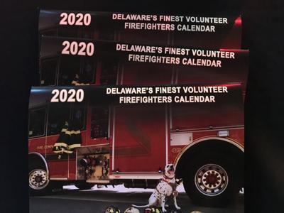 2020 Delaware's Finest Volunteer Firefighters Calendar