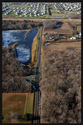 WDEL's Road Scholar: A corrective curve under construction near Lums Pond State Park