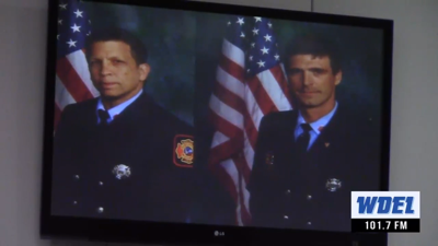 Wilmington Fire Chief says 1 of the 2 fallen firefighters was trying to save the other