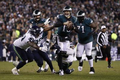Seahawks Eagles Football