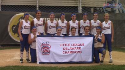 Canal once again one win away from Little League Softball