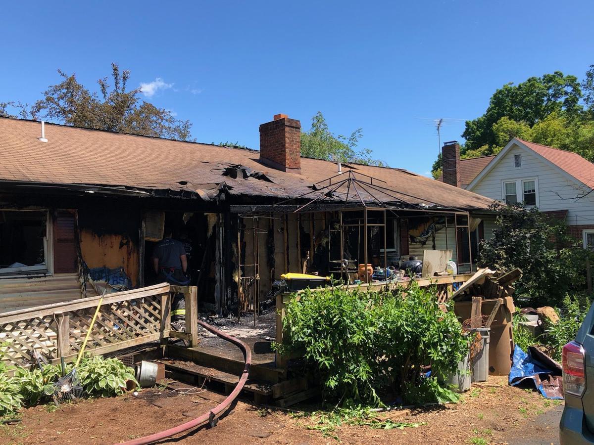 Roselle house fire 2