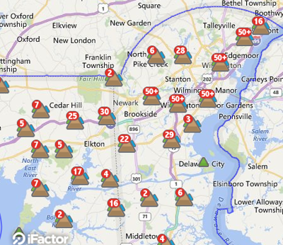 Delmarva Power working to restore outages across Delaware caused