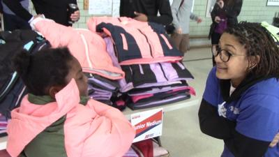 Operation Warm comes to Wilmington; hundreds of kids get new coats