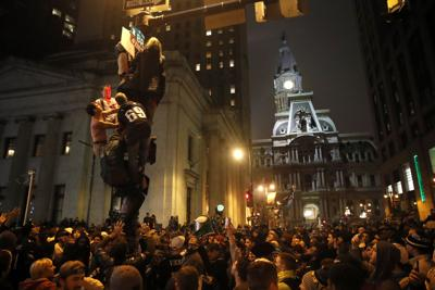 Philadelphia Super Bowl celebration