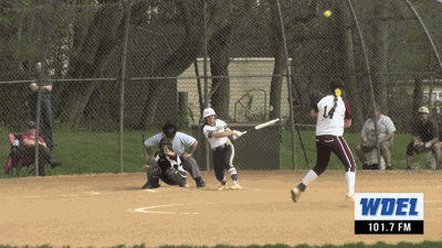 DMA's Angelina Dell'Oso powers a double against Caravel