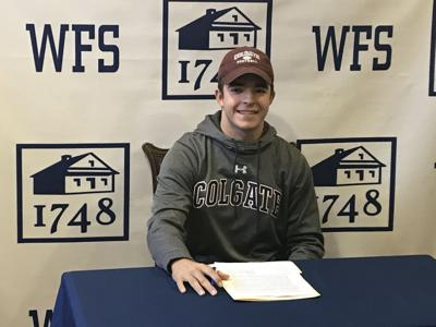 Wilmington Friends' Jacob Jaworski signs to play football at Colgate