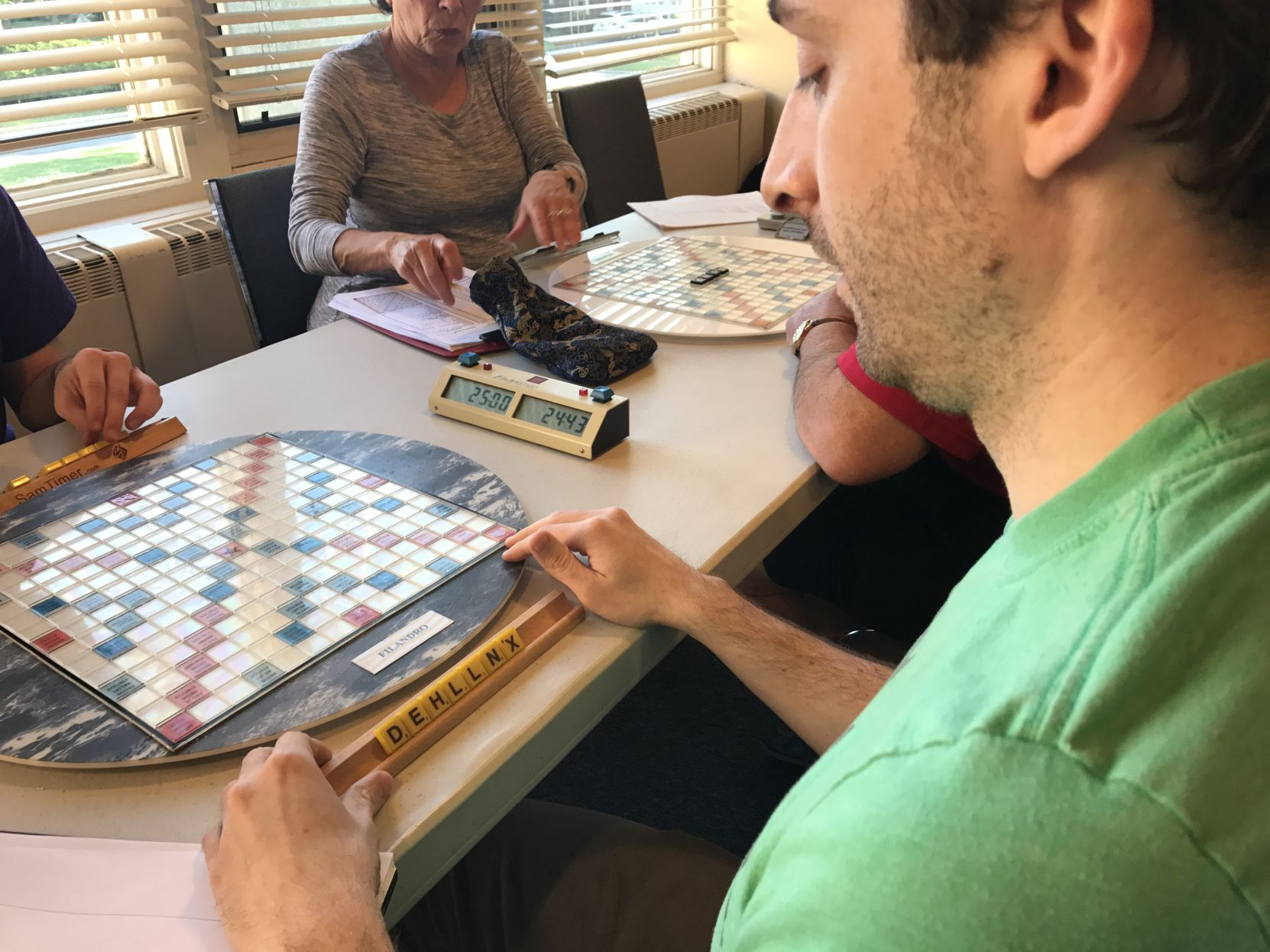 Wordless: Wilmington Scrabble Club gets a visit from national Scrabble champion | WDEL