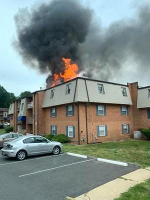 Edgemoor apartment building fire does more that $1M in damage, displaces 50+