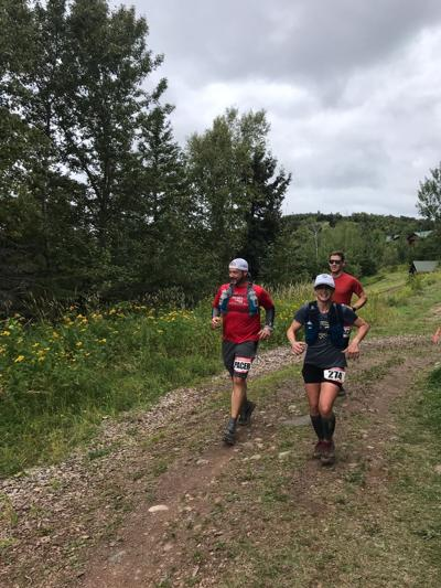 Kelly Tyrrell runs the 2019 Superior Trail Race